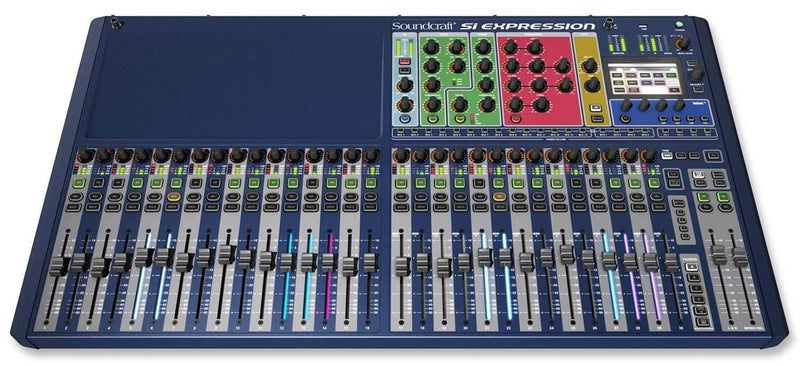 Soundcraft SI Expression 3 32Ch Digital Mixer - ProSound and Stage Lighting