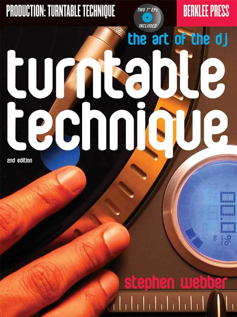 Hal Leonard Turntable Technique Book & 2 Records - ProSound and Stage Lighting