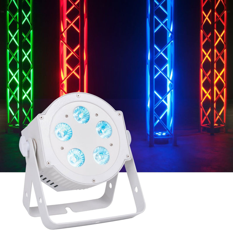 ADJ American DJ 5P Hex Pearl RGBAWUV LED Wash Light - ProSound and Stage Lighting