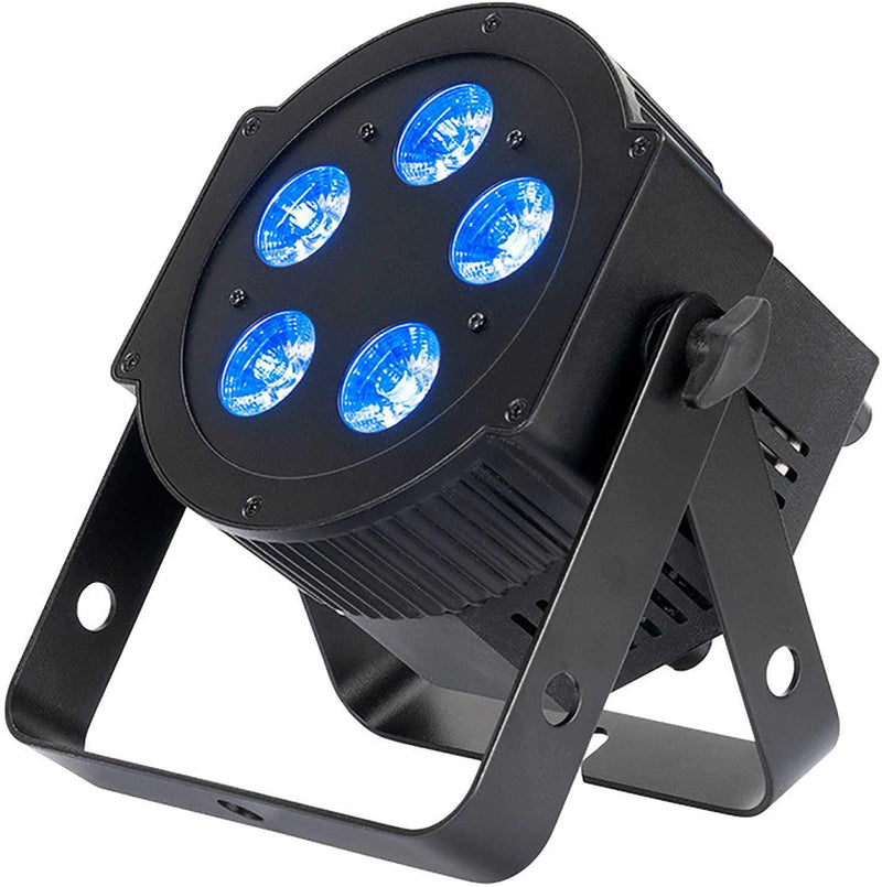 ADJ American DJ 5PX Hex RGBAW Plus UV LED Par Wash Light - ProSound and Stage Lighting