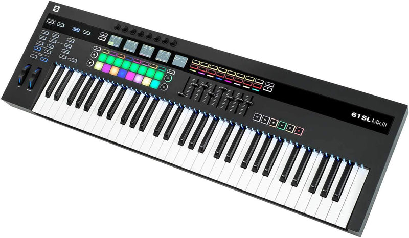 Novation 61-SL-MKIII 61 Key USB Midi Keyboard - ProSound and Stage Lighting