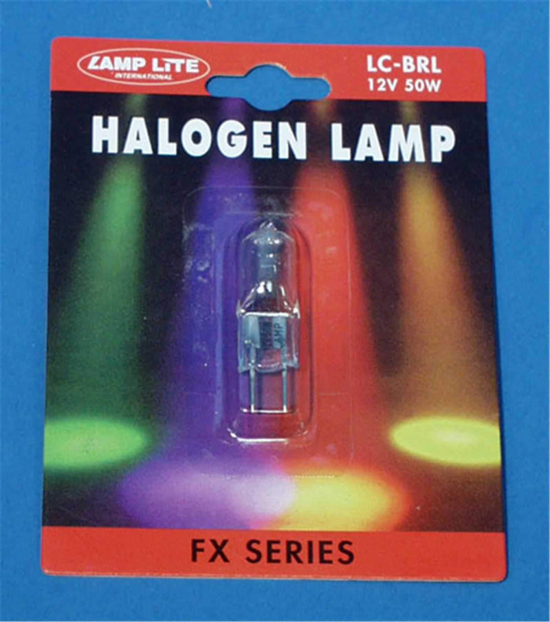 BRL 12V 50W 50 Hour Halogen 2-Pin Lamp - ProSound and Stage Lighting