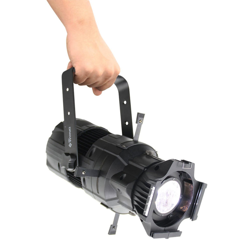 Mega Lite Drama LED W50 36-Degree Ellipsoidal (Black) - ProSound and Stage Lighting