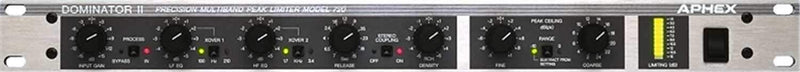 Aphex 720 Precision Stereo Peak Limiter - ProSound and Stage Lighting