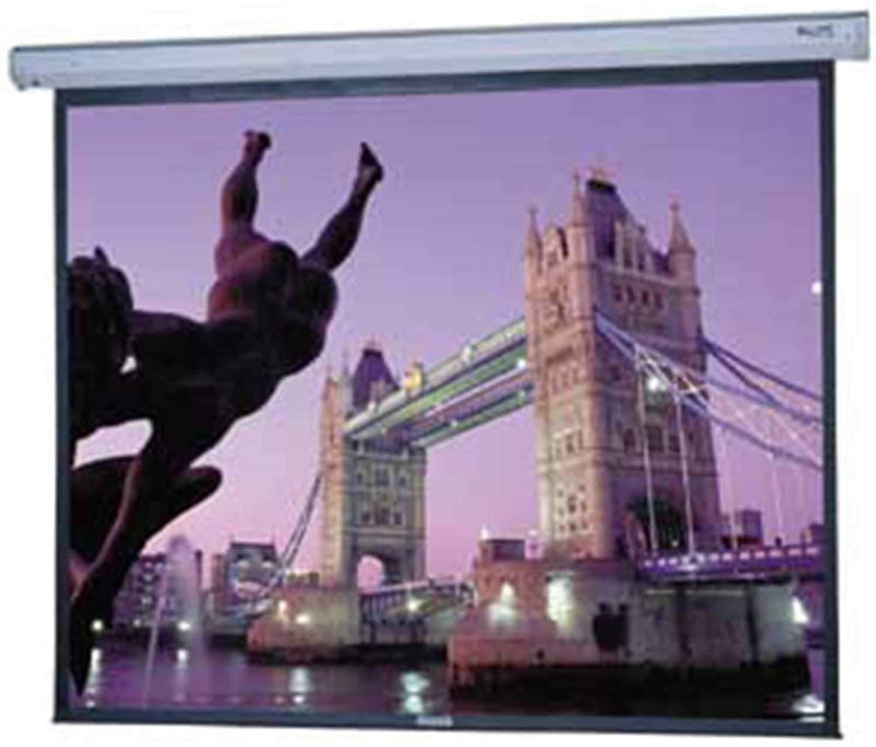 Dalite 100 Glass Beaded Electric Video Screen - ProSound and Stage Lighting