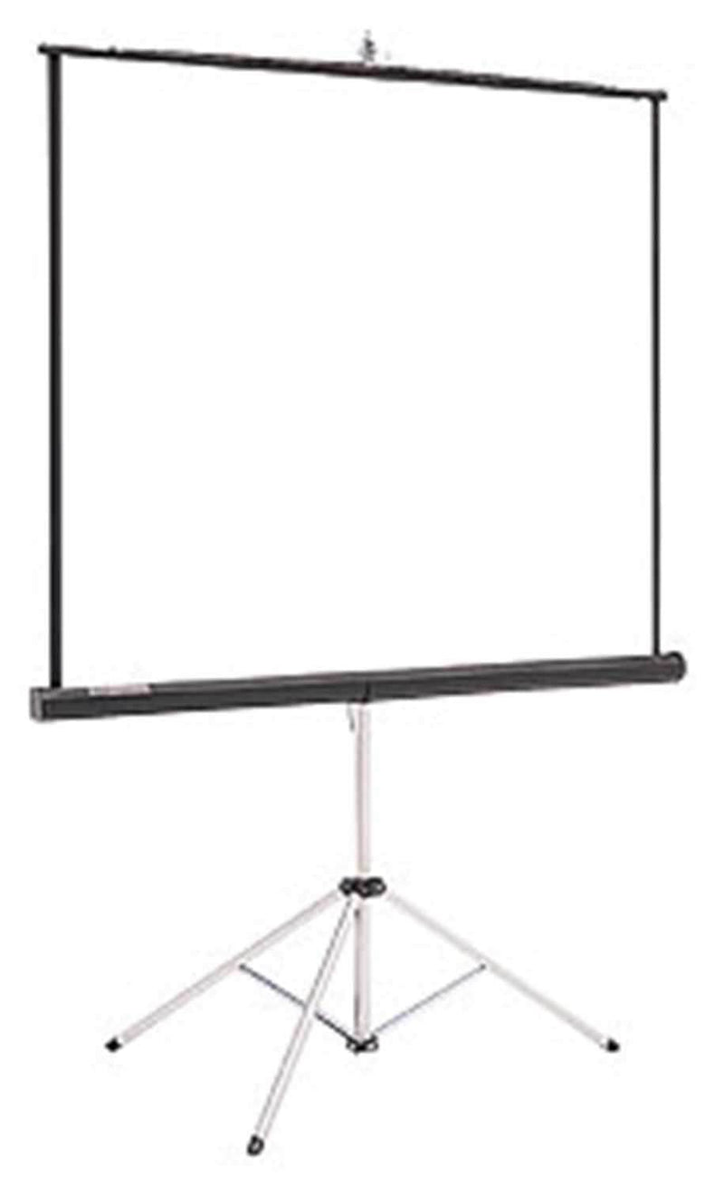 Dalite 84 In Matte White Pull Down Video Screen - PSSL ProSound and Stage Lighting