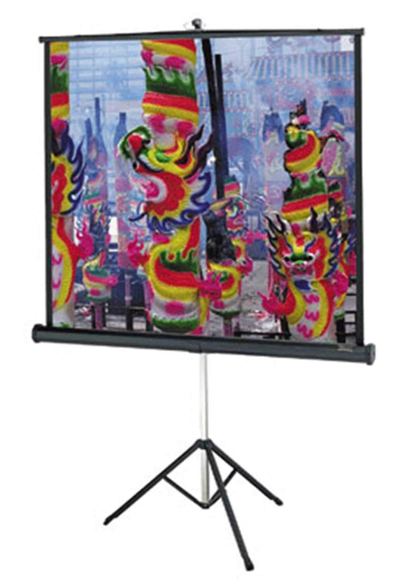 Dalite 72 Matte White Tripod Video Screen - PSSL ProSound and Stage Lighting