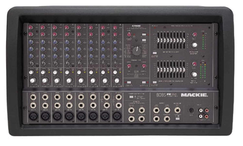 Mackie 808S 8Ch 2X600W Stereo Pwrd Mixer with Fx - PSSL ProSound and Stage Lighting