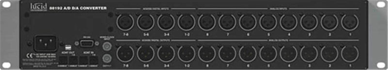 Lucid 88192 24/192Khz A/D D/A Converter - PSSL ProSound and Stage Lighting
