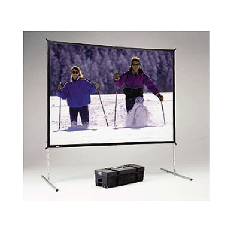 Da-Lite 88618 10-Foot x 10-Foot Fastfold Deluxe Portable Projection Screen - PSSL ProSound and Stage Lighting