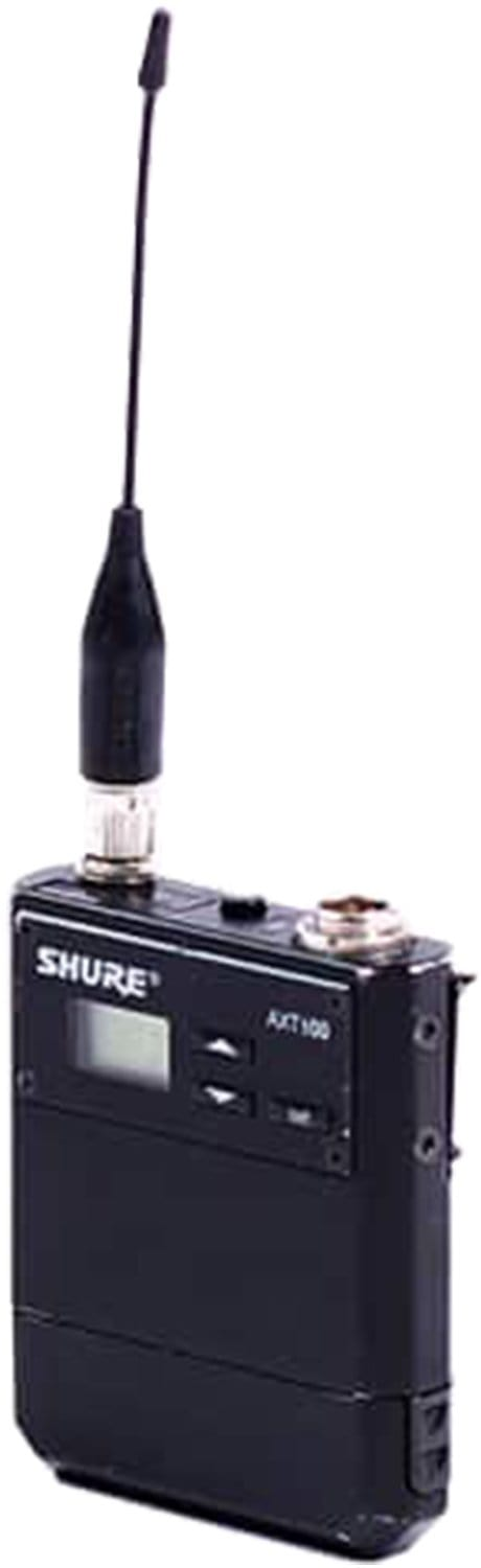 Shure AXT100-J5 Beltpack Transmitter J5 578-638MHz - ProSound and Stage Lighting