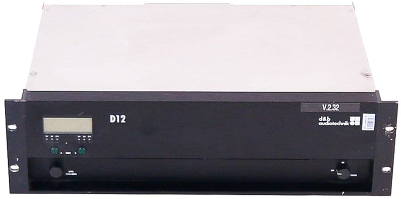 D&B Audiotechnik D12 2-Ch Amplified Controller - ProSound and Stage Lighting