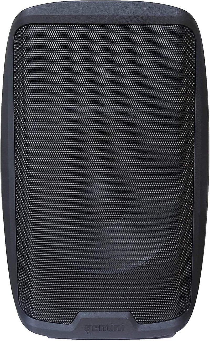 Gemini AS-2115BT 15-in 2000W Powered Speaker w/ BT - ProSound and Stage Lighting