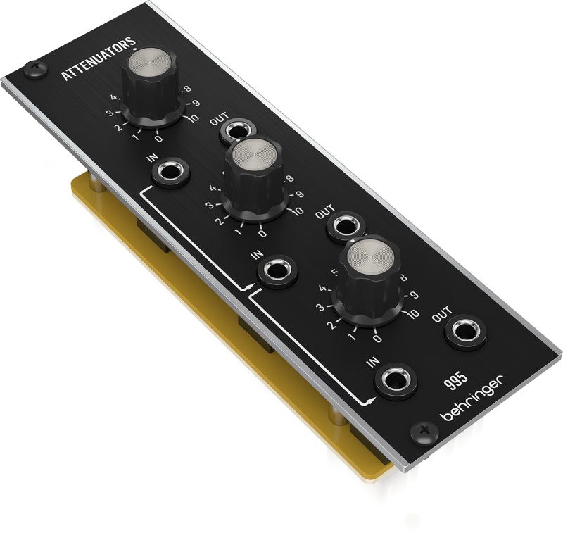 Behringer Analog 995 Attenuator Module for Eurorack - PSSL ProSound and Stage Lighting