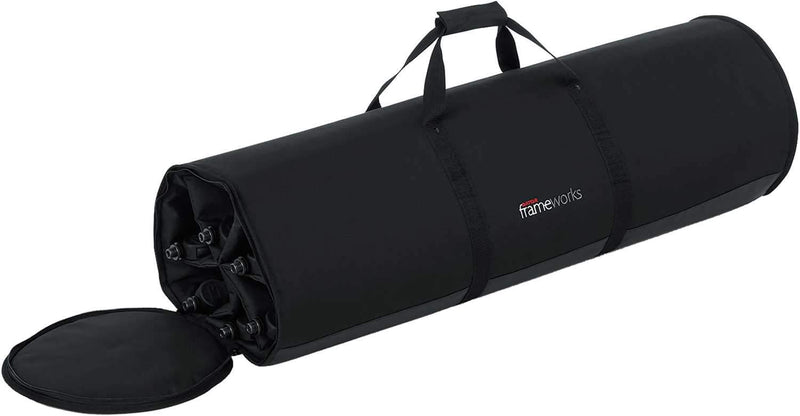 Gator Frameworks Carry Bag for 6 Mic Stands 2-Pack - PSSL ProSound and Stage Lighting
