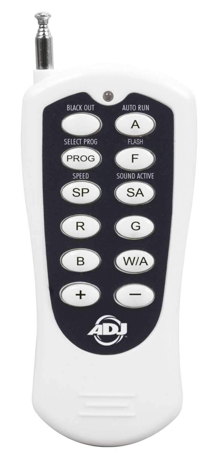 ADJ American DJ RFC Lighting Remote Control - PSSL ProSound and Stage Lighting