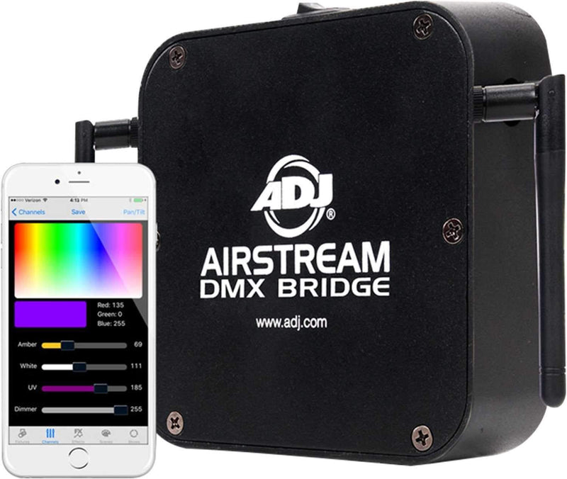 ADJ American DJ Airstream Bridge WiFi DMX Interface - PSSL ProSound and Stage Lighting
