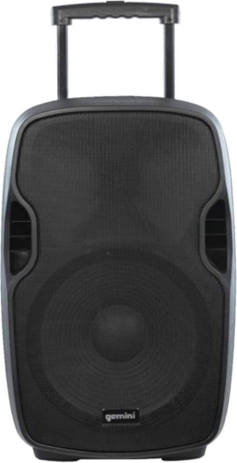 Gemini AS-15TOGO 15-inch Powered Portable Bluetooth Speaker - PSSL ProSound and Stage Lighting