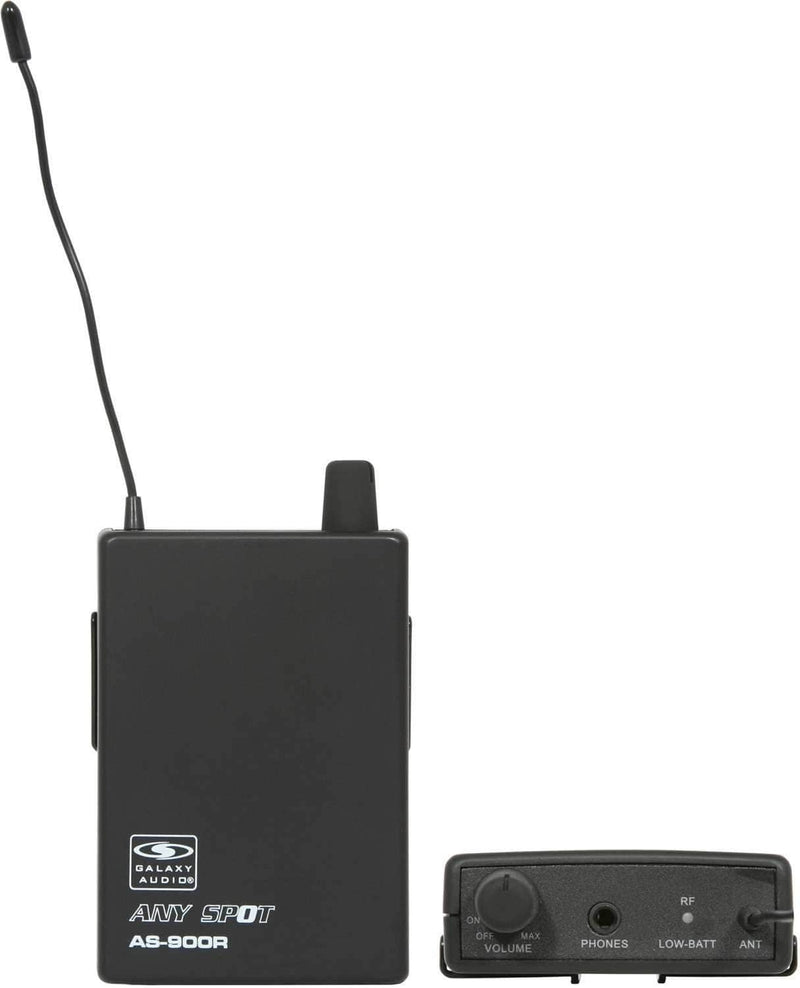Galaxy Audio AS-900 Wireless Personal Monitor - PSSL ProSound and Stage Lighting