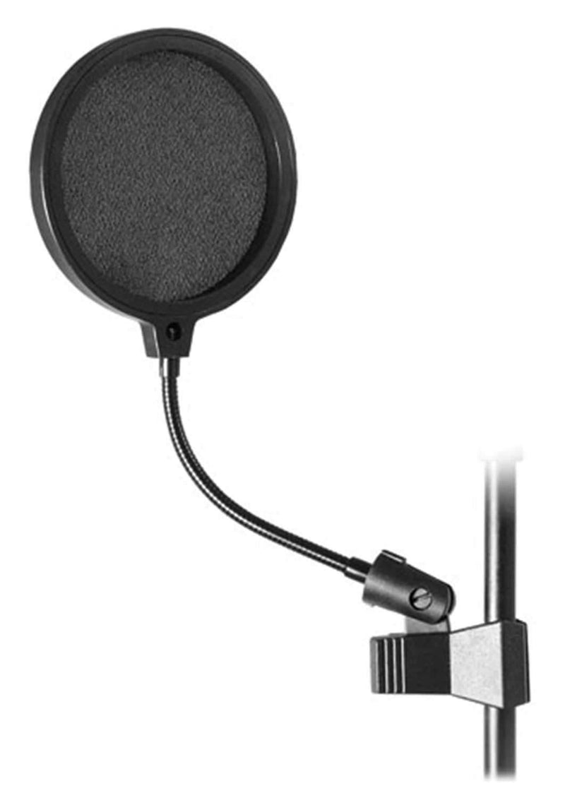 On-Stage ASVS6-B Microphone Popper Stopper Pop Filter - PSSL ProSound and Stage Lighting