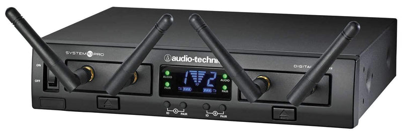 Audio-Technica ATW-1322 System 10 PRO Wireless Dual Handheld Microphone System - PSSL ProSound and Stage Lighting