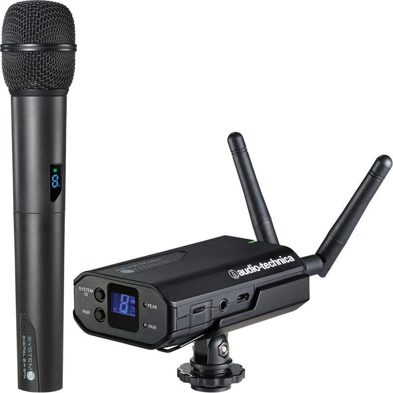 Audio Technica ATW-1702 System 10 Wireless Mount Set with Handheld Mic - PSSL ProSound and Stage Lighting