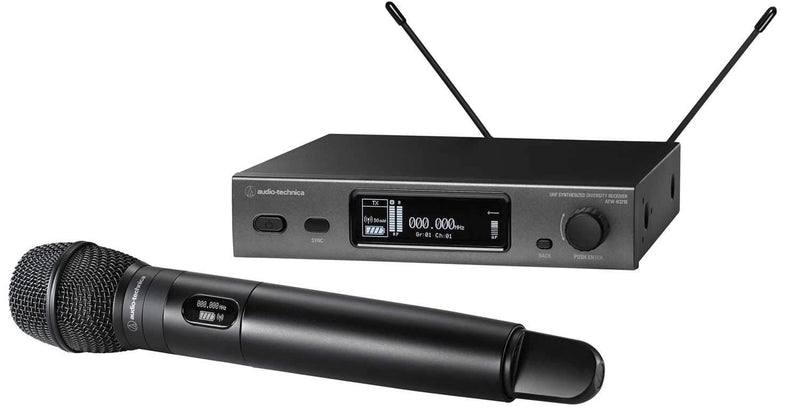Audio Technica ATW-3212-C710 3000 Series Wireless Handheld Mic with C710 DE2 - PSSL ProSound and Stage Lighting