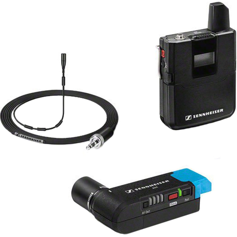 Sennheiser AVX-MKE2 SET-4-US MKE 2 Clip-on Wireless Lavalier Mic - PSSL ProSound and Stage Lighting