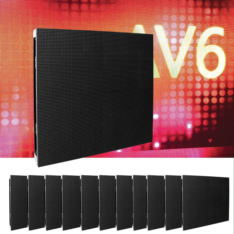 ADJ American DJ AV6X4X3 12-Panel AV6X LED Video Wall System - PSSL ProSound and Stage Lighting