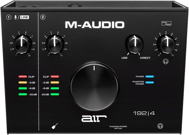 M-Audio AIR 192x4 Vocal Studio Pro Package - PSSL ProSound and Stage Lighting