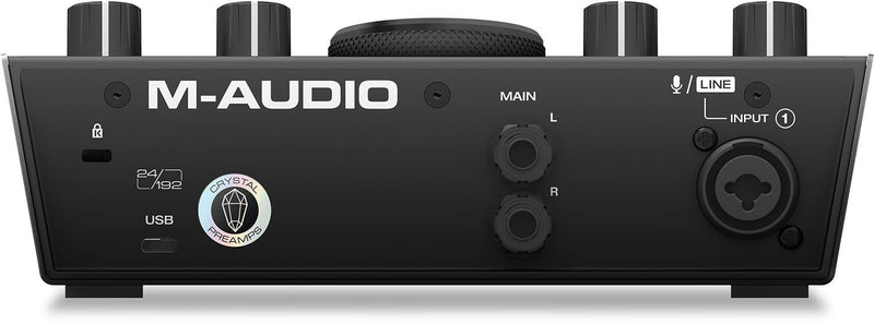 M-Audio AIR 192x4 2-In And 2-Out USB Audio Interface - PSSL ProSound and Stage Lighting