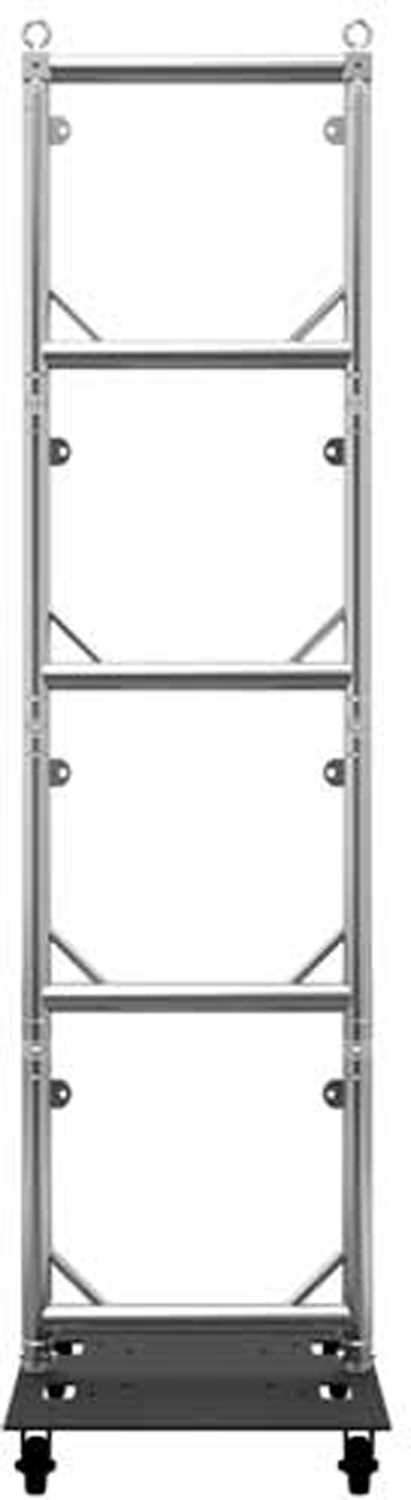 Global Truss Steel Base Plate 24X30WC with Casters - PSSL ProSound and Stage Lighting