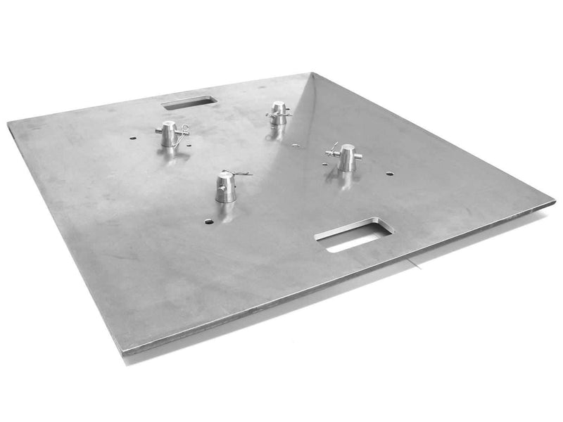 Global Truss Base Plate 30X30 for F24-F32-F33-F34-F44P Square Truss - PSSL ProSound and Stage Lighting