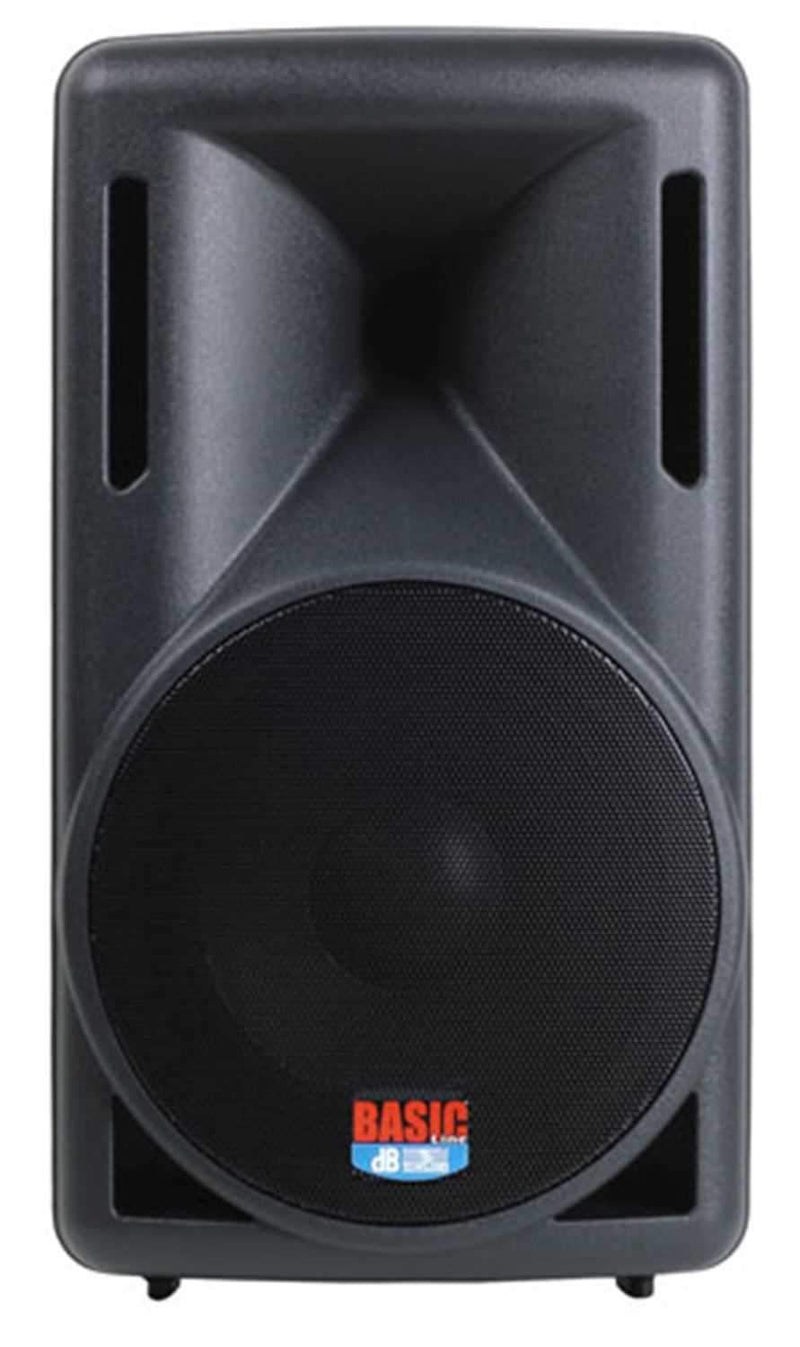 DB Technologies BASIC-100 10 Bi Amped Speaker - ProSound and Stage Lighting