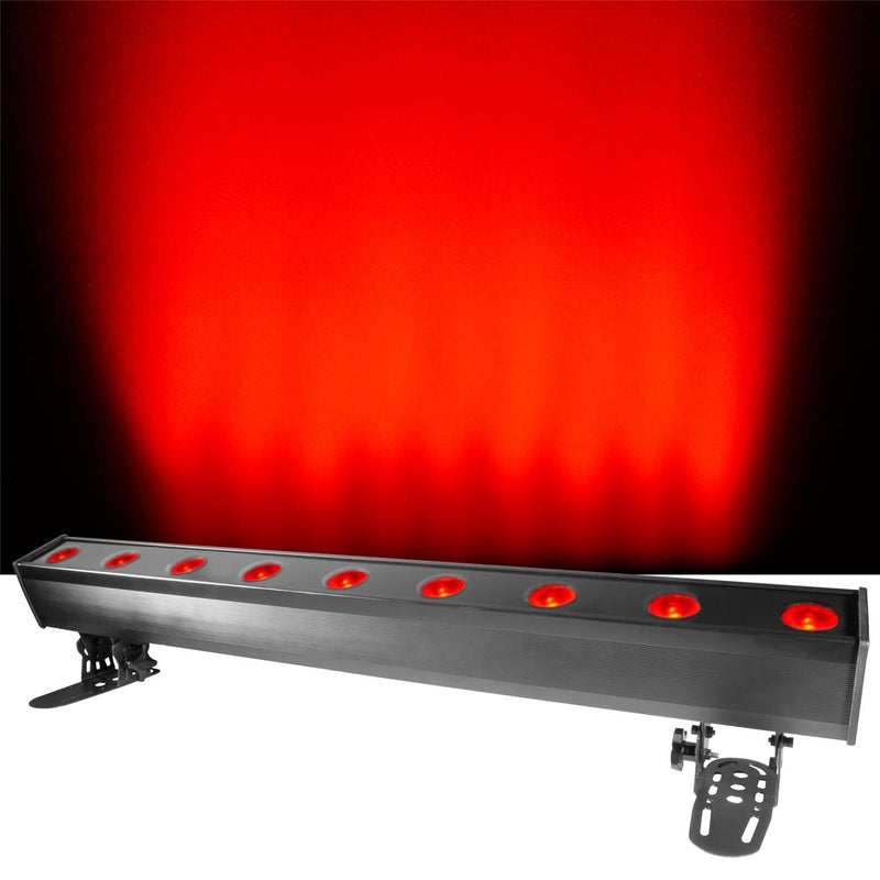 Chauvet COLORado Batten Quad-9 Tour RGBW DMX Wash - PSSL ProSound and Stage Lighting