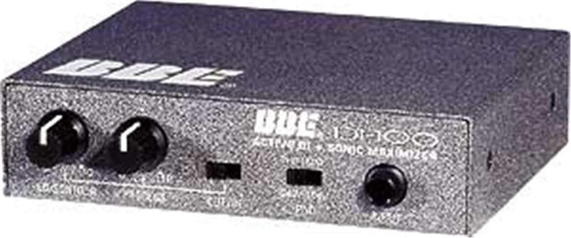 BBE DI100 Direct Box with Sonic Maximizer - PSSL ProSound and Stage Lighting