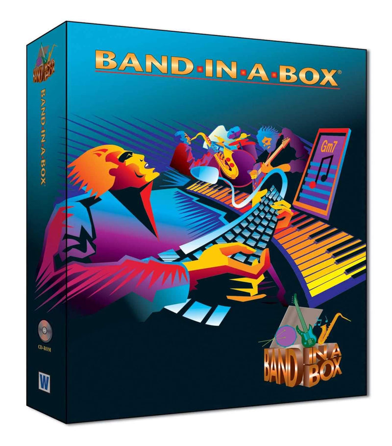 eMedia BBE90468 Band In a Box - Windows ONlY - PSSL ProSound and Stage Lighting