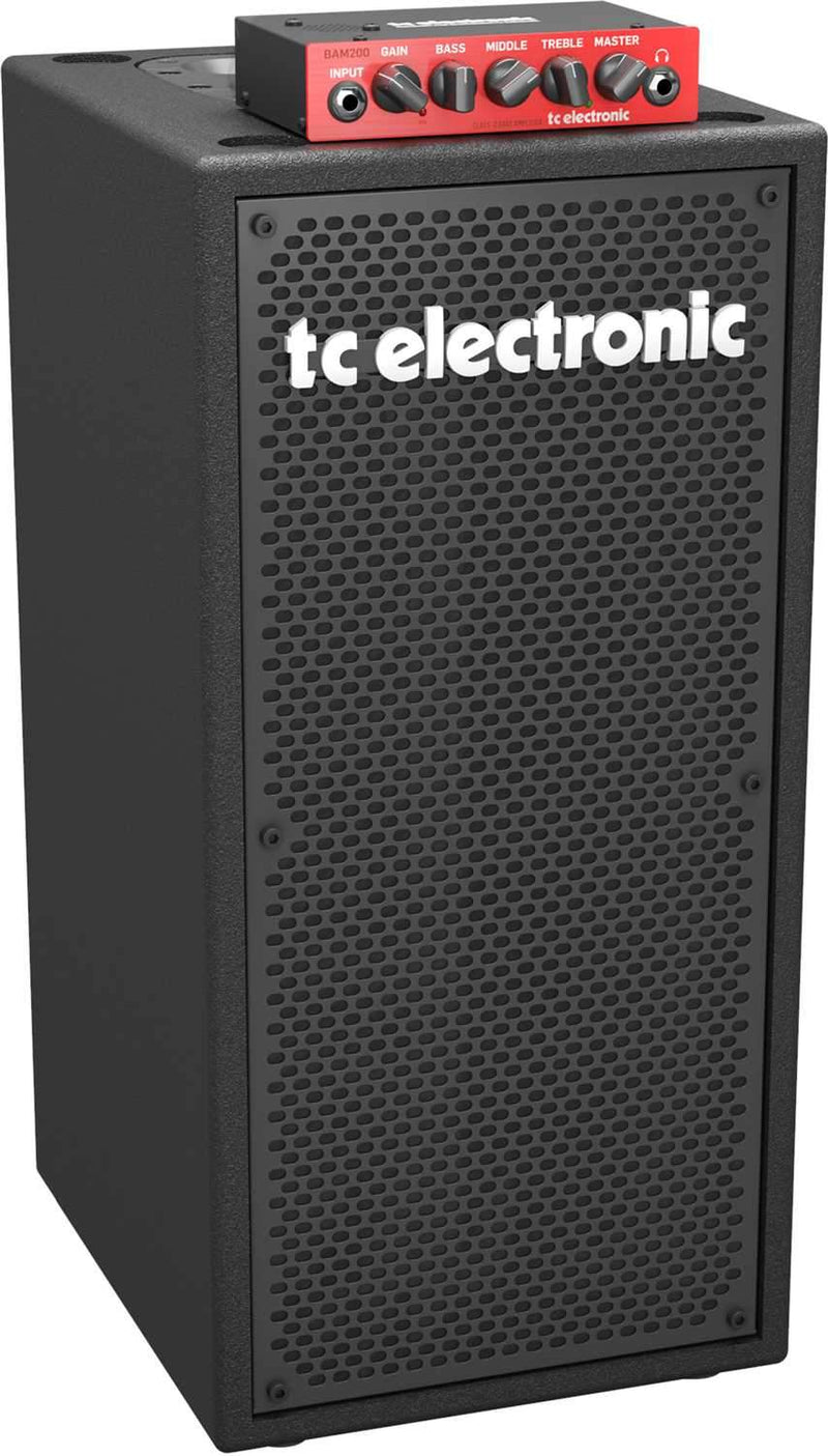 TC Electronic BC208 200 Watt Portable Bass Cabinet - ProSound and Stage Lighting