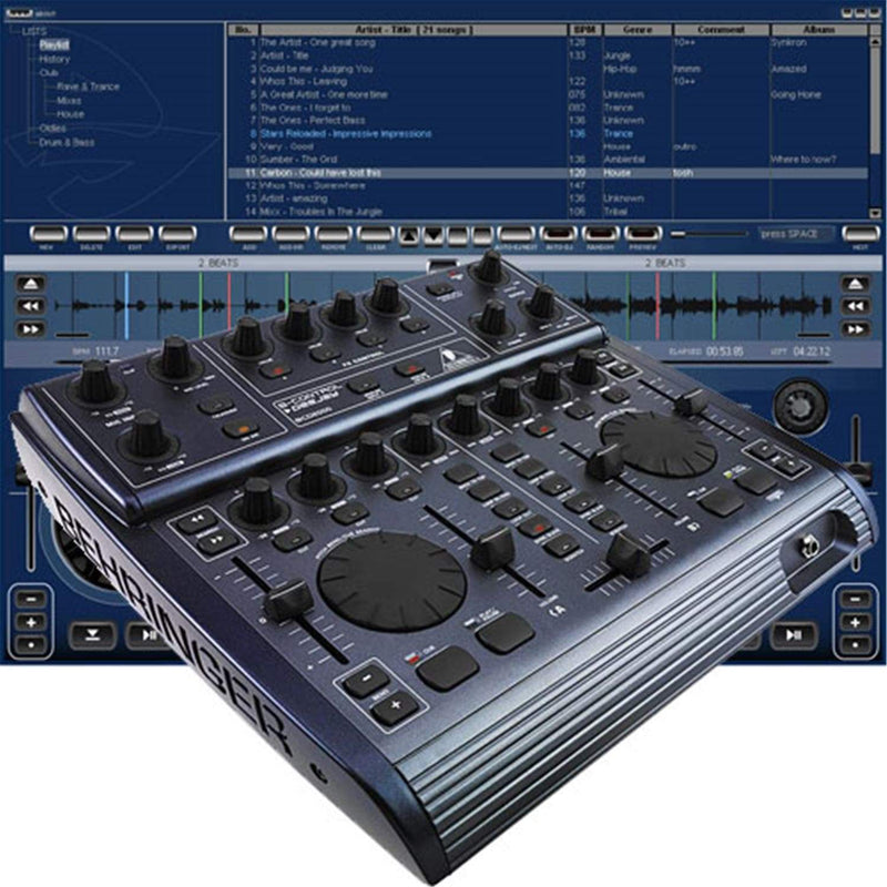 Behringer BCD2000 B Control Deejay Comp Interface - ProSound and Stage Lighting