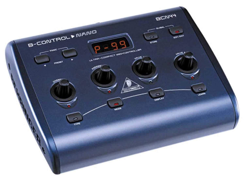 Behringer BCN44 B Control Nano Midi Controller - PSSL ProSound and Stage Lighting