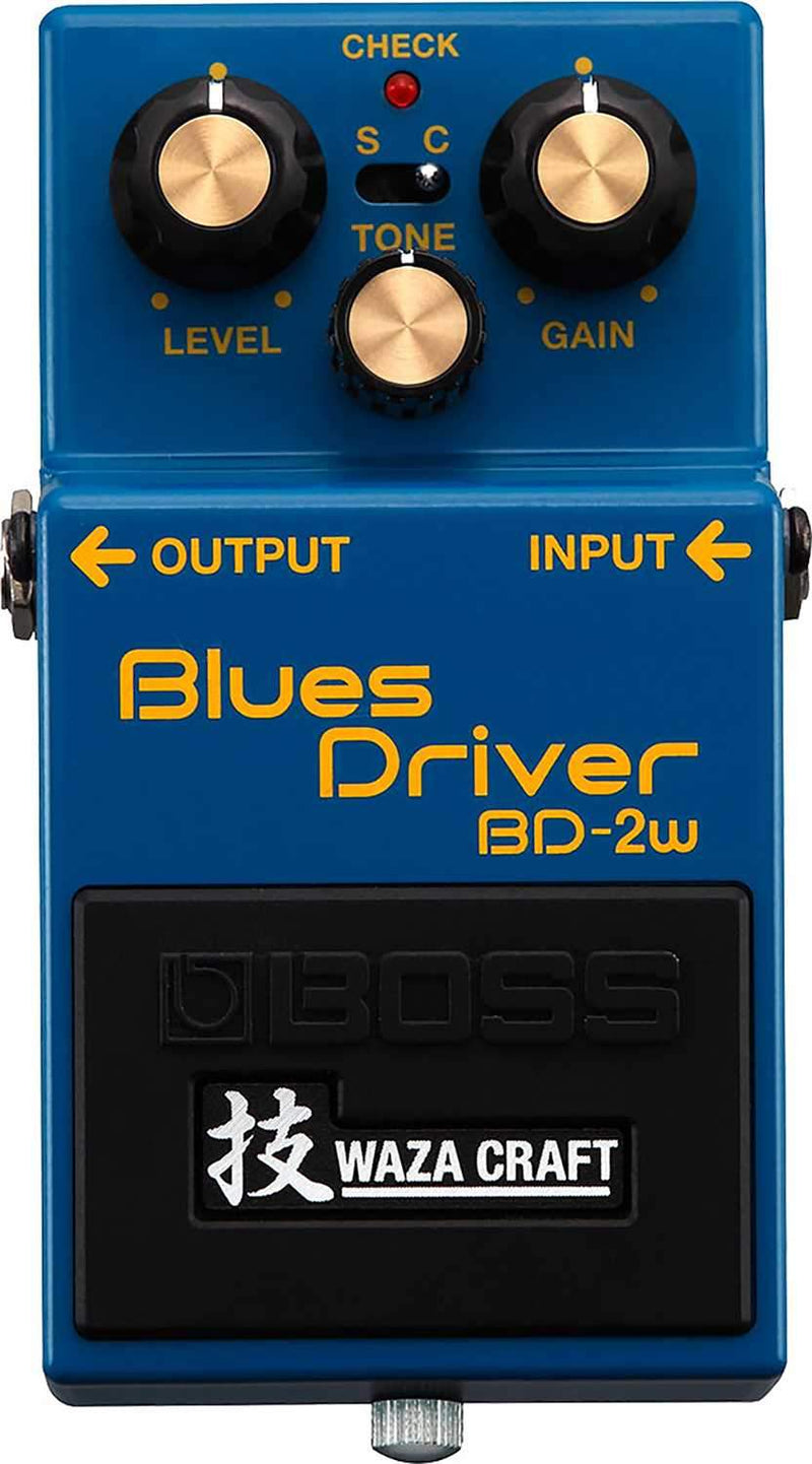 Boss BD-2W Waza Craft Blues Driver Pedal - PSSL ProSound and Stage Lighting