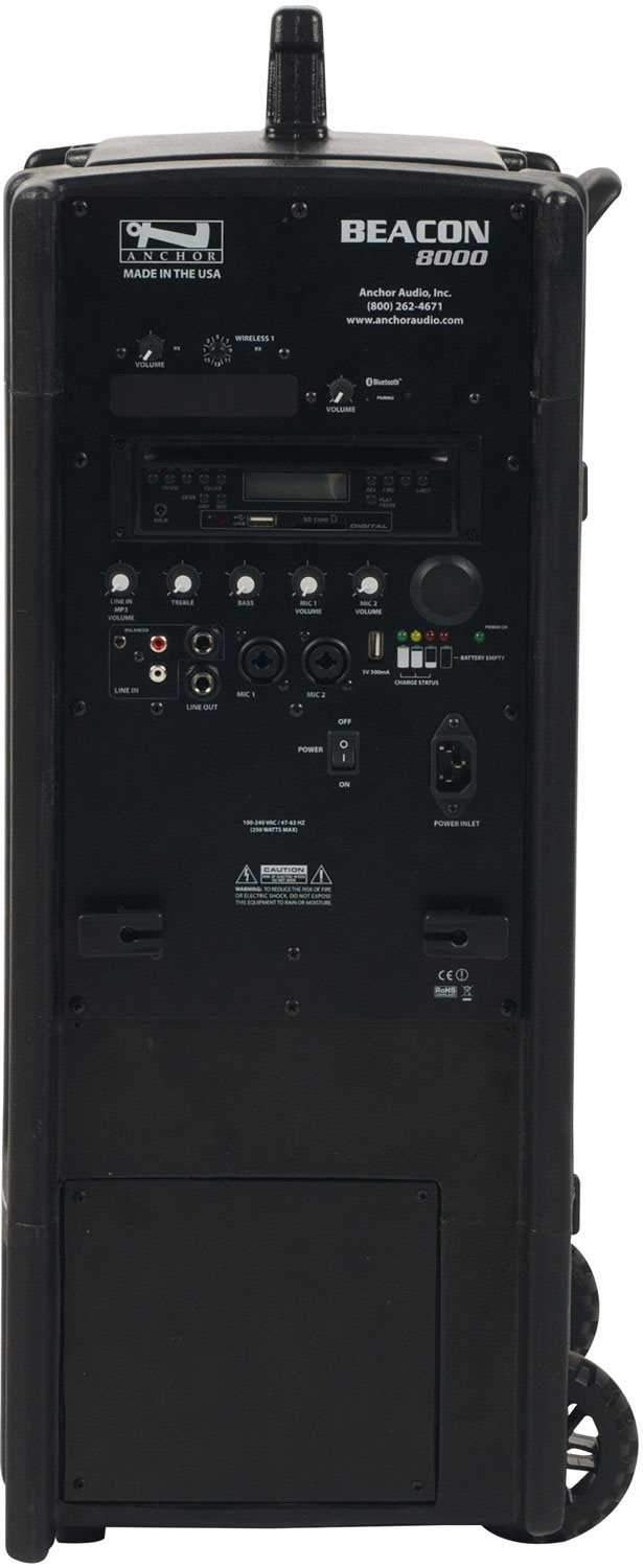 Anchor BEA-8000CU1 Beacon with Bluetooth 1 Receiver - PSSL ProSound and Stage Lighting