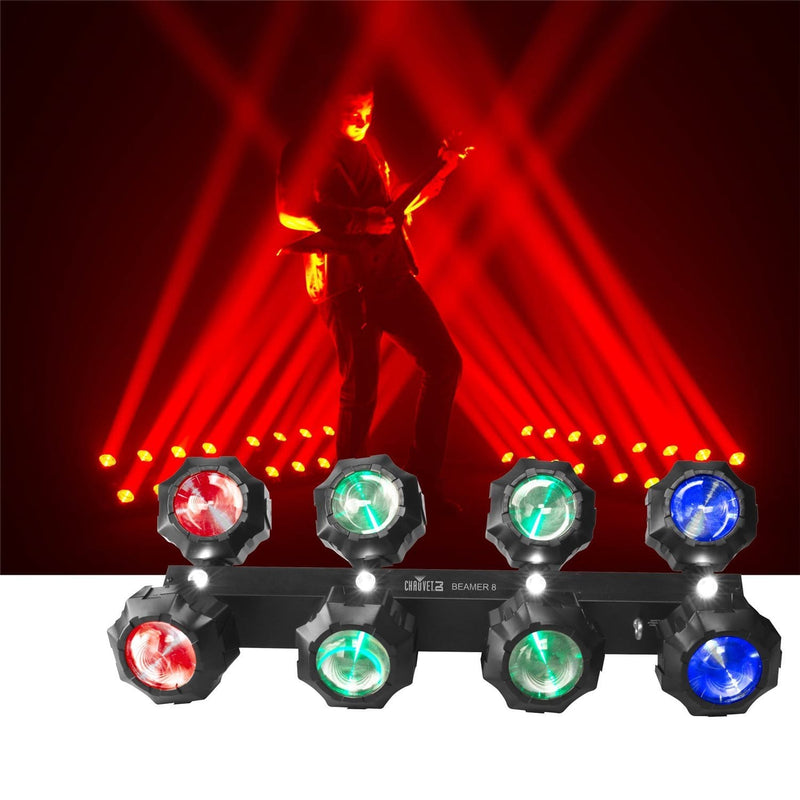 Chauvet Beamer 8 2-in-1 RGB LED Effects Light - PSSL ProSound and Stage Lighting