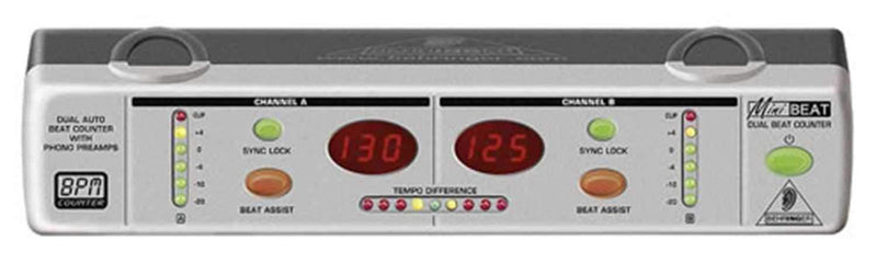 Behringer BEAT800 Dual Beat Counter with Dual Preamp - PSSL ProSound and Stage Lighting