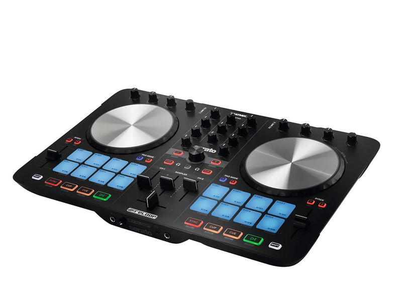 Reloop BeatMix 2 MK2 2-Channel DJ Controller for Serato - PSSL ProSound and Stage Lighting