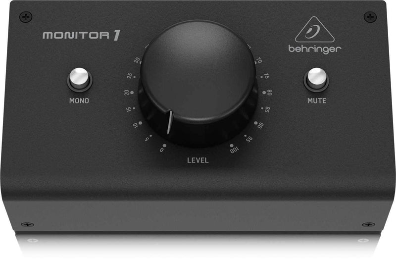 Behringer Monitor1 Passive Stereo Monitor & Volume Controller - PSSL ProSound and Stage Lighting