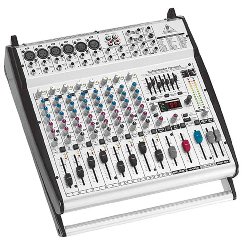 Behringer Europower PMH1000 12 Ch Powered Mixer - ProSound and Stage Lighting