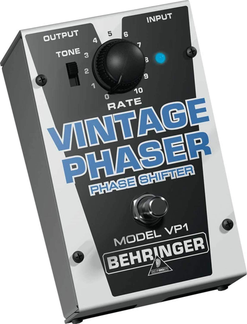 Behringer VP1 Vintage Style Phase Shifter Pedal - PSSL ProSound and Stage Lighting