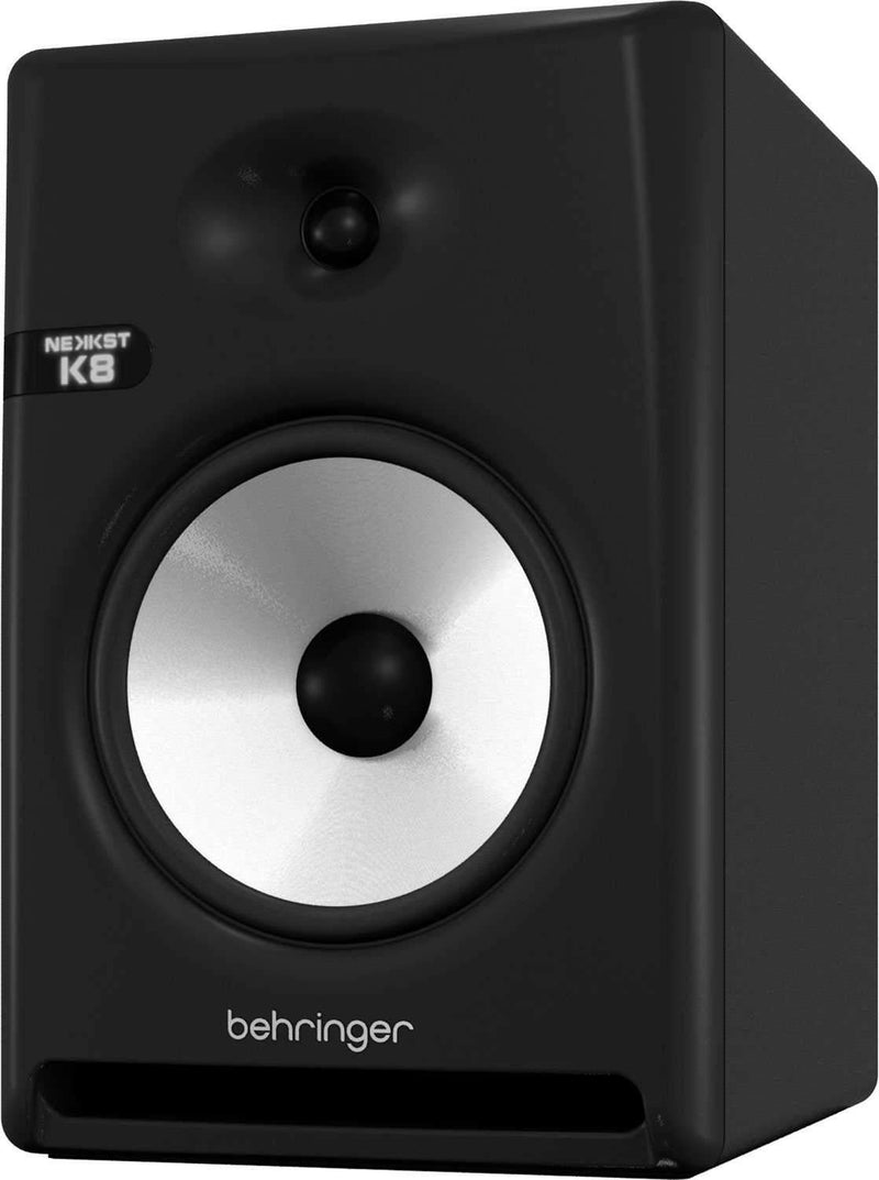 Behringer NEKKST K8 8-Inch Powered Studio Monitor - PSSL ProSound and Stage Lighting