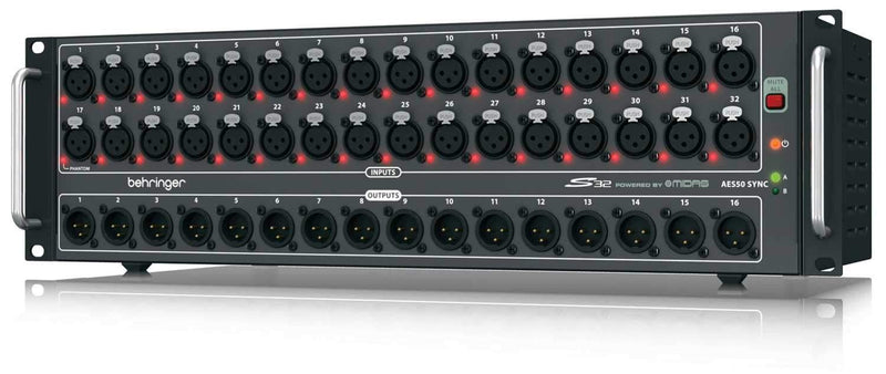 Behringer S32 32-Channel Cat 5 Digital Stage Box - PSSL ProSound and Stage Lighting